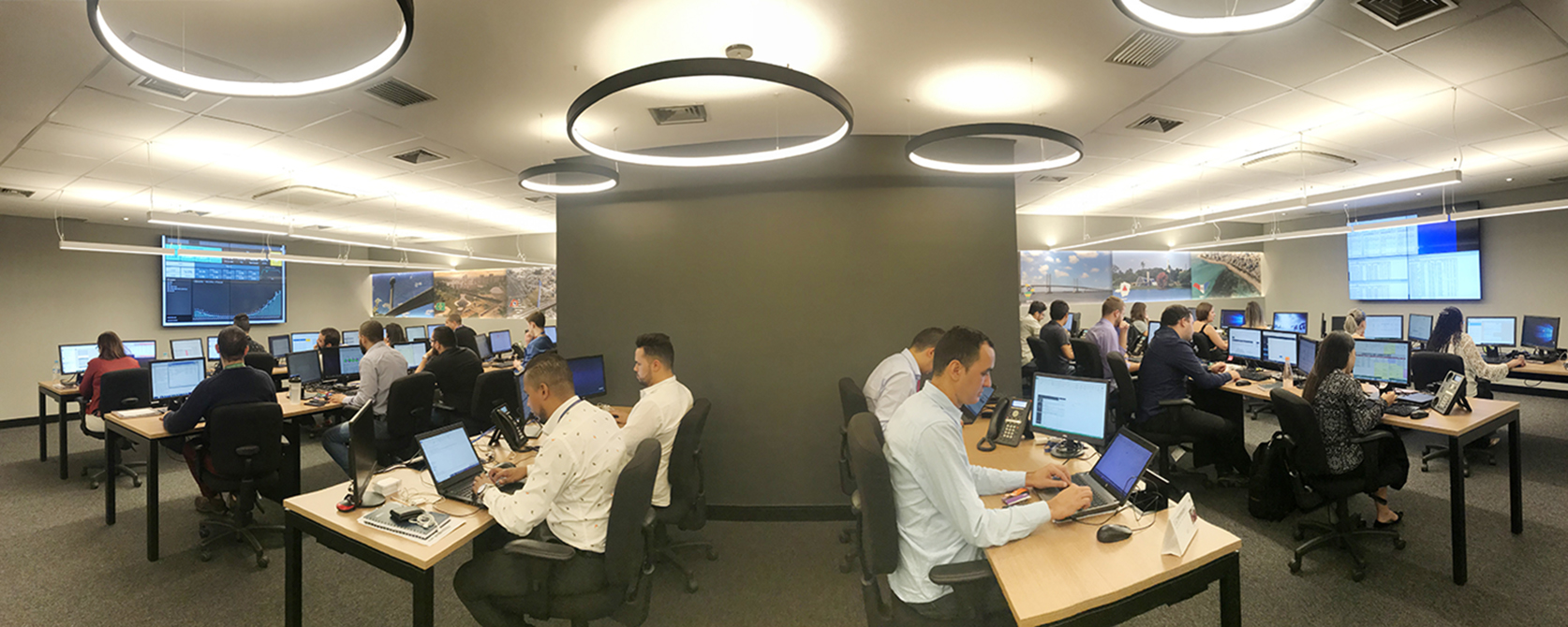 AlmavivA do Brasil inaugura central de monitoramento de serviços em tempo real