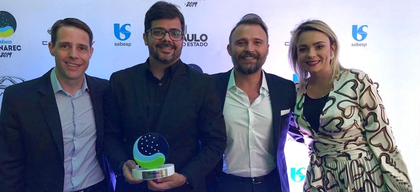 Prêmio CONAREC 2019 – AlmavivA do Brasil grande vencedora na categoria Cobrança e Recuperação – Grandes Operações